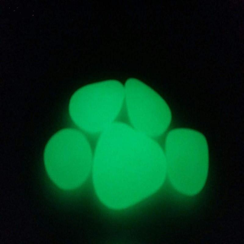 سنگ تزئینی شب تاب مدل I-Green بسته 5 عددی