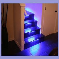 ست نورپردازی هوشمند راه پله