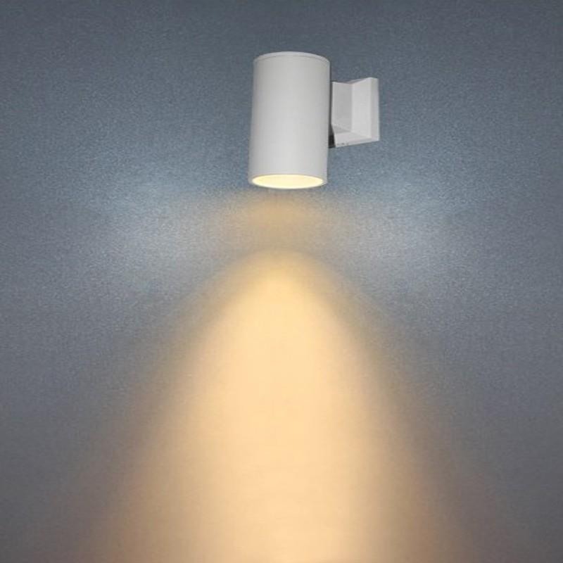 چراغ دکوراتیو دیواری استوانه ای یکطرفه و دو طرفه ( یک پر و دو پر )