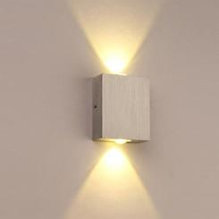 چراغ دکوراتیو دیواری مربعی یک طرفه و دو طرفه و چهار طرفه ( یک پر و دوپر و چهارپر)