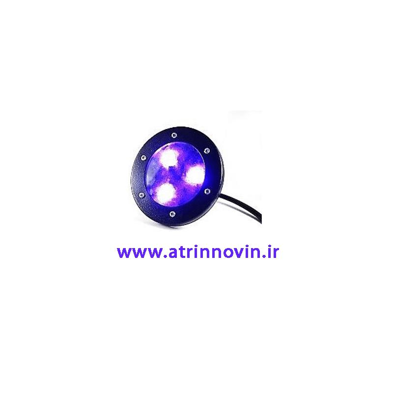 چراغ دفنی توکار3W RGB