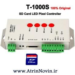 کنترلر T8000-AC کنترلر T8000A-TTL کنترلر T1000S کنترلر T500 کنترلر Pixel LED T1000S Violetکار با نرم افزار LEd Editor