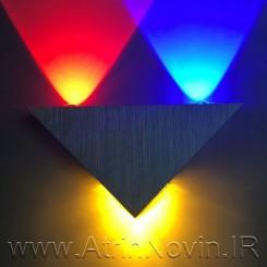 چراغ دکوراتیو مثلثی