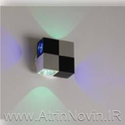 چراغ دکوراتیو مکعبی یک طرفه و چراغ دکوراتیو مکعبی دو طرفه