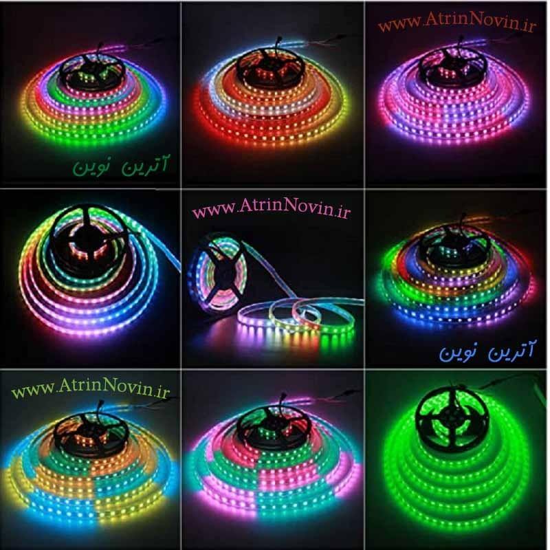 ریسه نواری برنامه پذیر Addressable LED) ALED ، WS2812B)