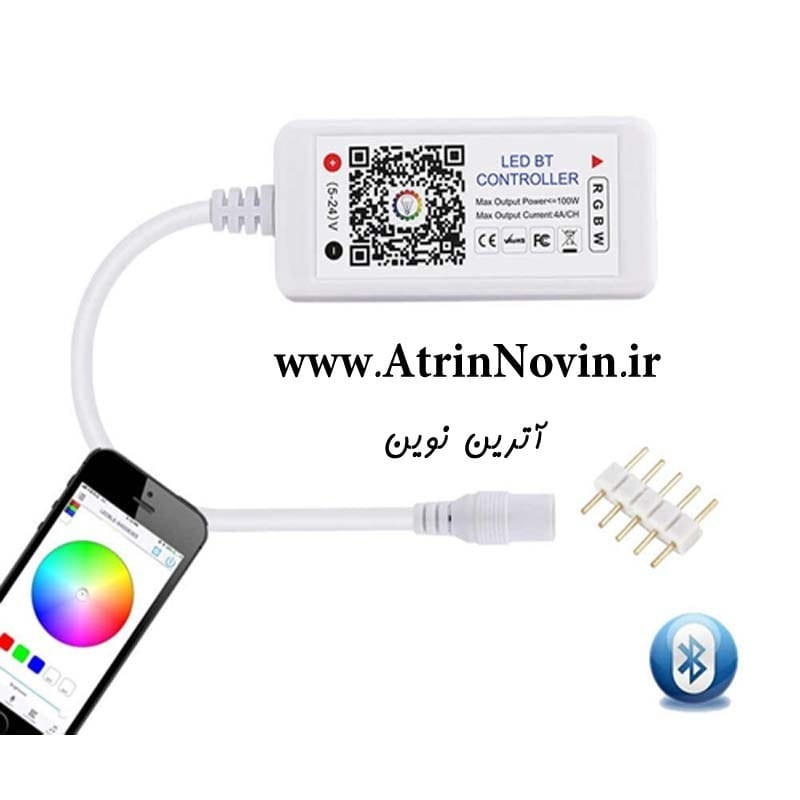 کنترلر ال ای دی بلوتوثی RGB/RGBW