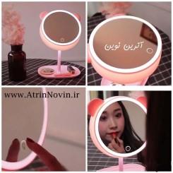 آینه آرایشی چراغ دار رومیزی