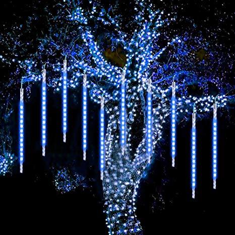 نورپردازی درخت ، نورپردازی کریسمس ، نورپردازی آبشاری