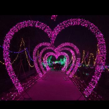 تونل نوری آر جی بی ، تونل نوری تک رنگ ، تونل نوری قلبی