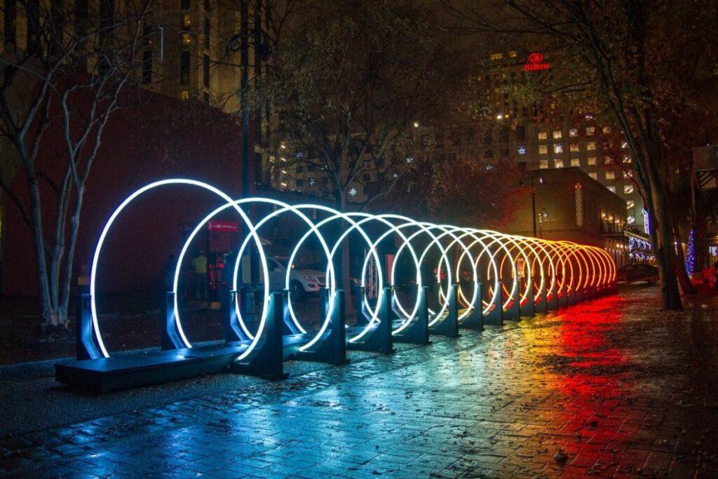 حلقه تونل نوری ، تونل نوری حلقه ای