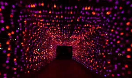 تونل نوری تک رنگ ، تونل نوری فول کالر ، تونل نوری پیکسل
