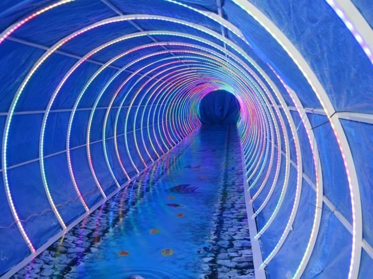 نورپردازی تونل ، نورپردازی تونلی ، نورپردازی تونل ها