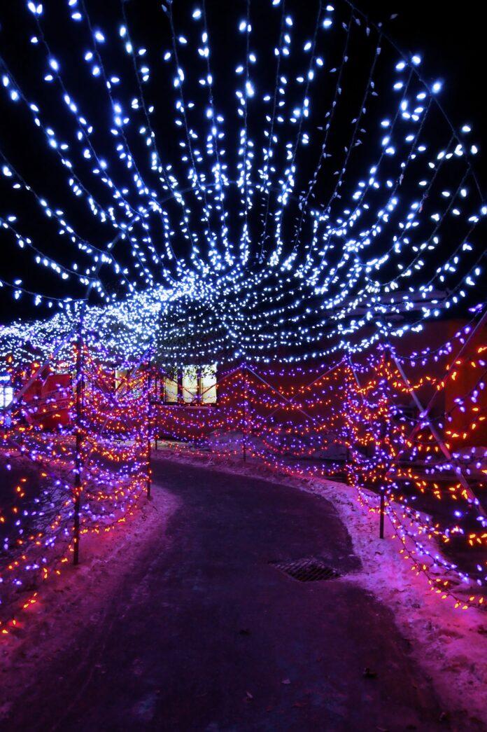 زیباترین تونل نوری ، تونل نوری موزیکال