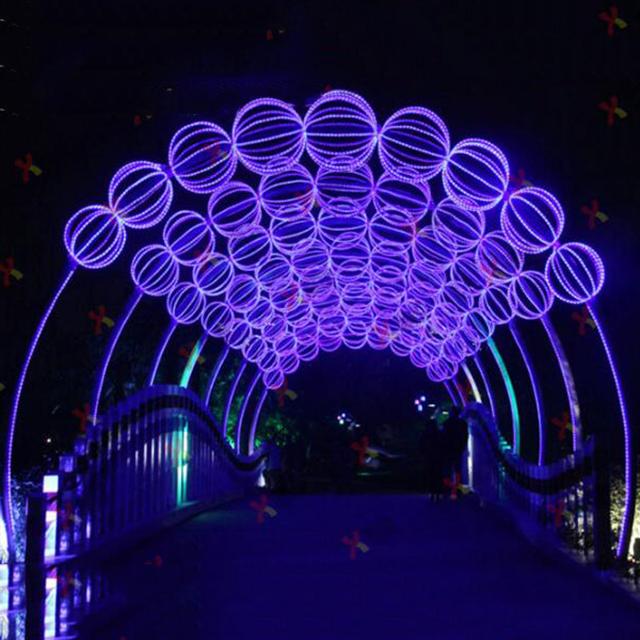 تونل نوری ارجی بی ، تونل نوری توپی