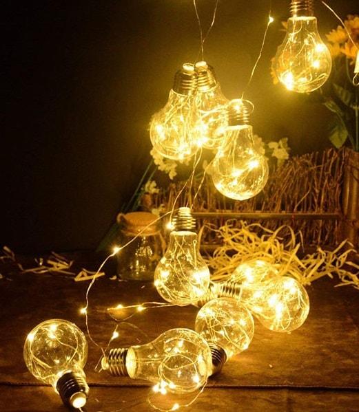ریسه لامپ ، ریسه لامپ زرد ، ریسه لامپی طلایی