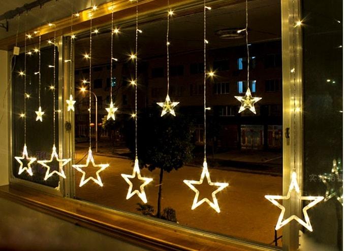 ریسه ماه و ستاره ، ریسه آویز ماه و ستاره ، ریسه طلایی ماه و ستاره