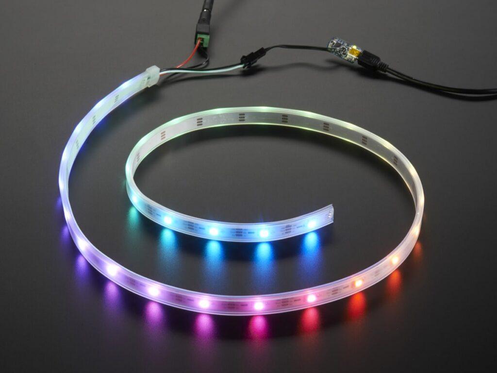 آترین نوین ، نور پردازی کناف ، نورپردازی هوشمند ، نورپردازی داینامیک ، فرمان پذیر ، ادرس پذیر ، ws2812