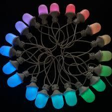 ریسه بلوطی هفت رنگ ، بلوطی تمام رنگ ، ریسه بلوطی تک رنگ