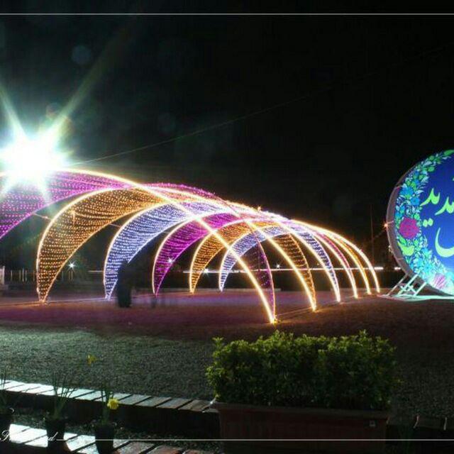 طراحی تونل نوری ، ریسه نوری دیجیتال ، تونل نوری تمام رنگ