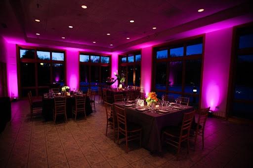 نورپردازی رستوران با پروژکتور ، نورپردازی کافی شاپ