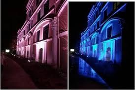 پروژکتور آر جی بی هفت رنگ ، پروژکتور نورپردازی ساختمان
