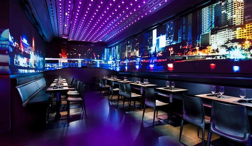 نورپردازی رستوران پیکسل پوینت ، روشنایی پیکسل پوینت