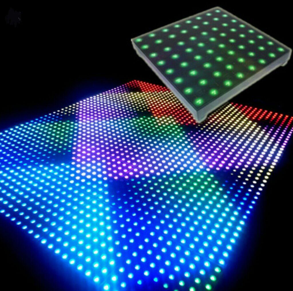 پیکسل مربعی ، پوینت لایت مربعی ، پیکسل مربع برنلمه پذیر