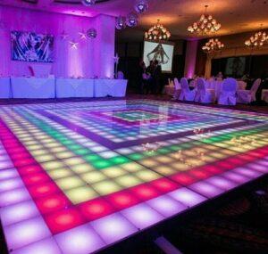 فروش استیج شیشه ای رقص نور با کیفیت درجه یک