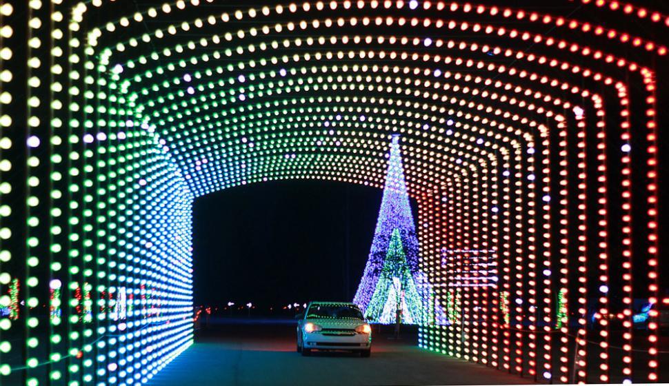 تونل نوری آدرس پذیر ، لامپ تونل نوری