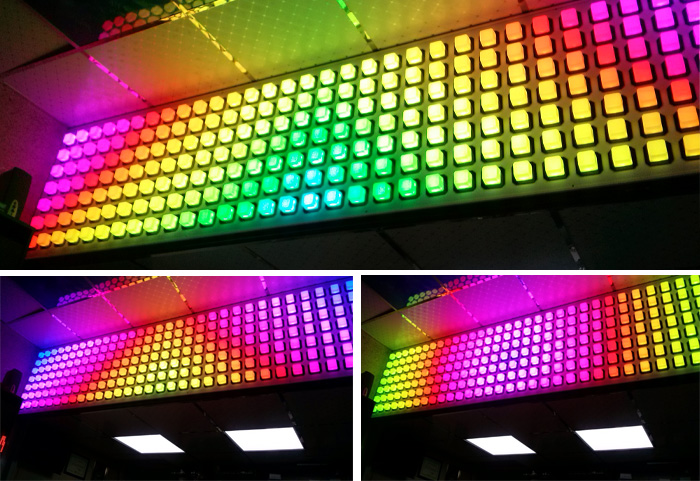پیکسل پوینت مربع تک رنگ ، لایت پوینت مربع ، پرکسل مربعی تمام رنگ