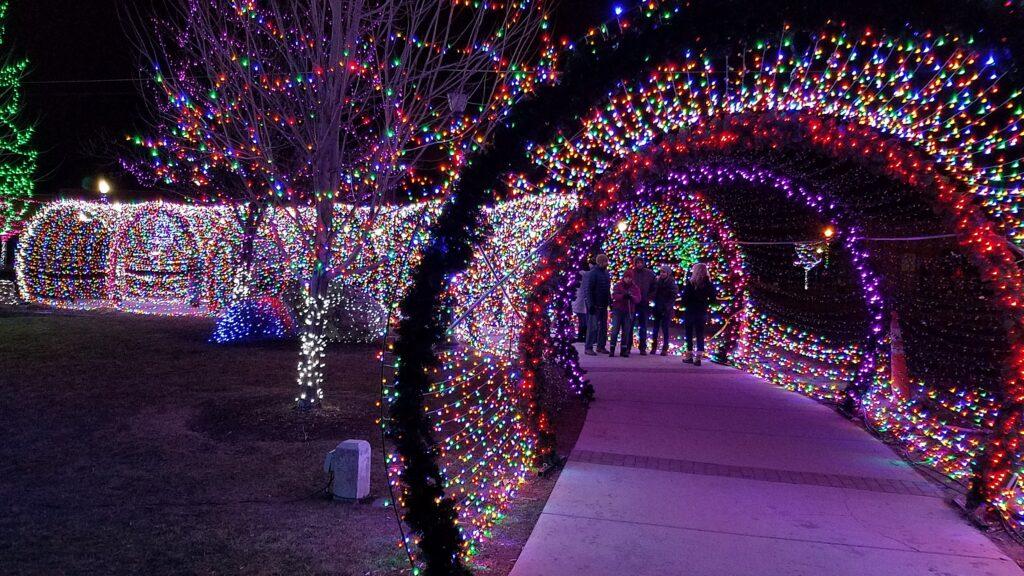 نور تونل ،ال ای دی تونل نوری ، led تونل نوری