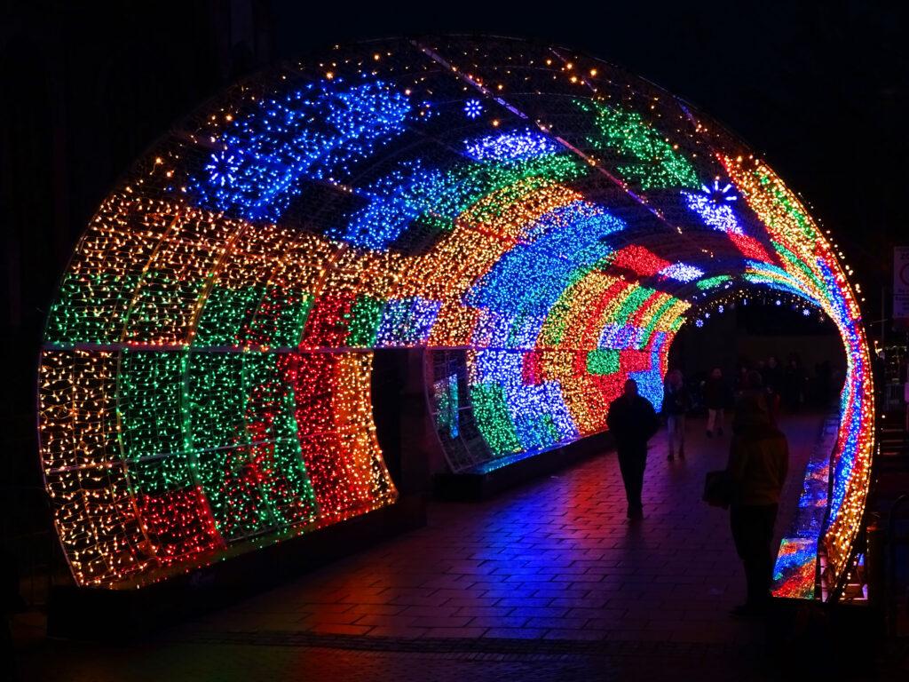 تونل نوری چند ضلعی ، تونل نوری زیبا