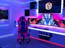 طراحی نورپردازی اتاق گیمینگ