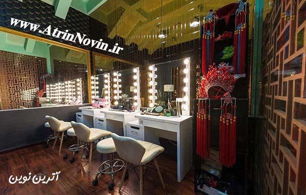لامپ آینه ای مخصوص آرایشگاه
