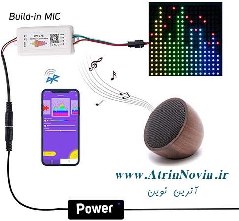 RGBZONE SP107E Bluetooth LED Music Controller