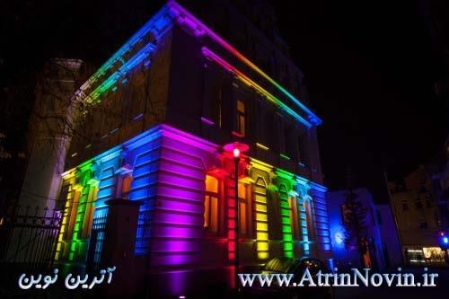 نورپردازی نما کافیشاپ و رستوران در مشهد