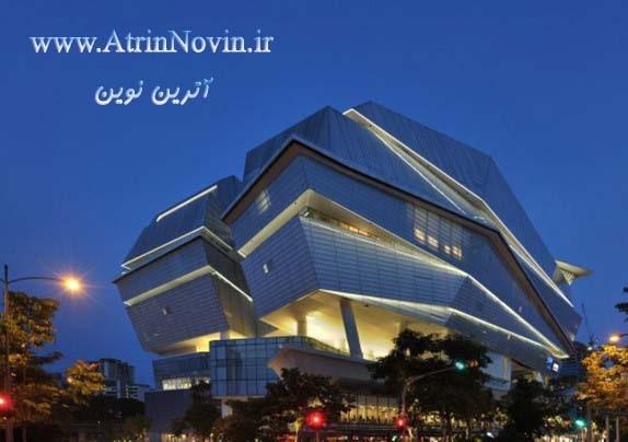 نورپردازی ساختمان های ویلایی در مشهد