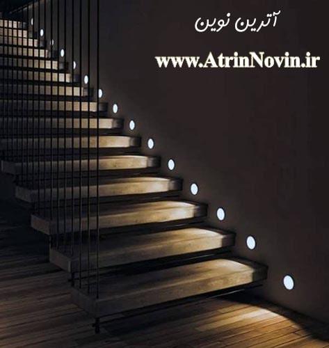 چراغ زیرپله ، نورپردازی پله