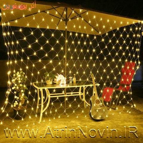 led net mesh lights ریسه توری نوری